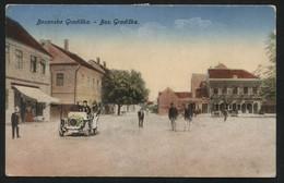 KINGDOM YUGOSLAVIA-The Kingdom Of Serbs Croats And Slovenes - BOSANSKA GRADIŠKA -VINTAGE POSTCARD - (APAT#144) - Jugoslawien