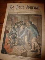 """1908 LE PETIT JOURNAL: Les Bandits """"chauffeurs"""" Chauffaient A La Flamme Vive Les Pieds De Leurs Victimes(à Orgères,etc) - Journaux - Quotidiens"""