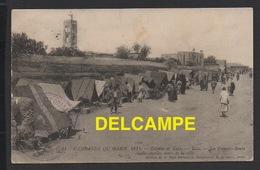 DD / MILITARIA / GUERRE DU MAROC OU CAMPAGNE DU MAROC 1914 / COLONNE DE TAZA / TAZA LES SOUKS / ANIMÉE / 1914 - Other Wars
