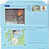 Isle Of Man Mint Aerogramme - Isle Of Man