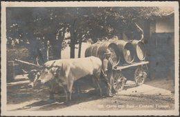 Carro Con Buoi, Costumi Ticinesi, 1926 - Mayr Foto Cartolina - TI Ticino