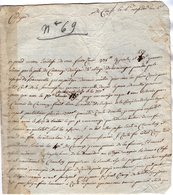 VP14.150 - Haute - Savoie - An 4 - Lettre De CLUSES Pour Le Citoyen JACQUIER De TANINGES Présentement à CHAMBERY - Manuscripts