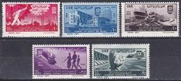 Ägypten Egypt 1961 Geschichte History Revolution Aufbau Infraktruktur Wohnungsbau Landwirtschaft, Mi. 628-2 ** - Nuovi
