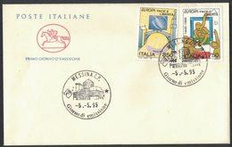 E6    ITALIA - FDC CAVALLINO 1995 -  EUROPA - ANNULLO FILATELICO - 1946-.. République