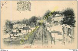 33. LORMONT . La Gare Et Les Tunnels . - France