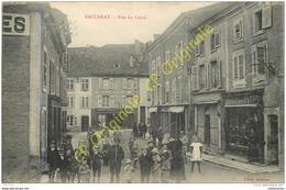 54. BACCARAT . Rue Du Canal . CPA Animée . - Baccarat