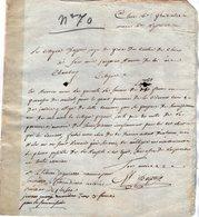 VP14.151 - Haute - Savoie - An 4 - Lettre De CLUSES Pour Le Citoyen JACQUIER De TANINGES Maintenant à CHAMBERY - Manuscripts