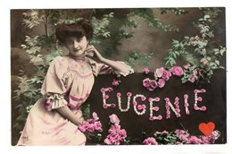 35021-ZE-FANTAISIE--EUGENIE------------belle Demoiselle-fleurs - Firstnames