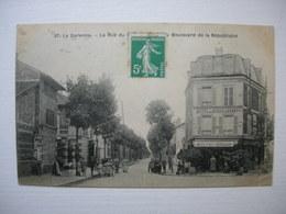 CPA La Garenne. Boulevard De La République. Belle Animation+++ - La Garenne Colombes