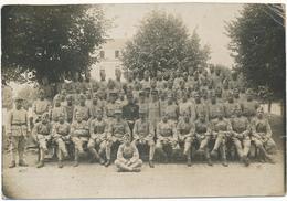 EPINAL (88), Militaria - Peloton Des Elèves Caporaux, 1918 - 170 Sur Képis - Guerre, Militaire