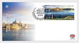 Malta / Malte - Postfris / MNH - FDC Joint-Issue Kirgizië 2018 - Malta