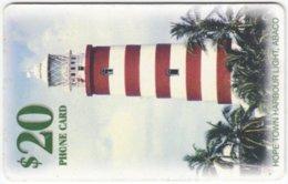 BAHAMAS A-072 Chip Batelco - Landscape, Lighthouse - Used - Bahamas