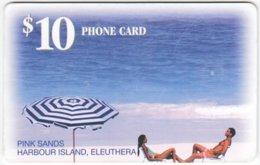 BAHAMAS A-074 Chip Batelco - Landscape, Coast, Beach - Used - Bahamas