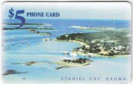 BAHAMAS A-075 Chip Batelco - Landscape, Coast - Used - Bahamas