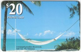 BAHAMAS A-076 Chip Batelco - Landscape, Coast, Beach - Used - Bahamas