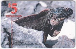 BAHAMAS A-077 Chip Batelco - Animal, Lizard - Used - Bahamas