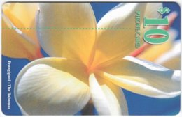 BAHAMAS A-082 Chip Batelco - Plant, Flower - Used - Bahamas
