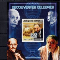 697885546 COMORES POSTFRIS MINT NEVER HINGED POSTFRISCH EINWANDFREI  YVERT 1583 EN BF DECOUVERTES CELEBRES - Comores (1975-...)