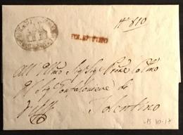 1817 TOLENTINO. PER CITTA' - Italy