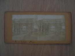 CARTE STEREOSCOPIQUE ARC DE CONSTANTIN ROME ITALIE - Stereoscope Cards