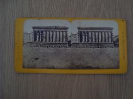 CARTE STEREOSCOPIQUE LA MAISON CARREE NIMES VUE DE FRANCE - Stereoscope Cards