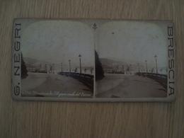 CARTE STEREOSCOPIQUE MONTECARLO G.NEGRI BRESCIA - Stereoscope Cards