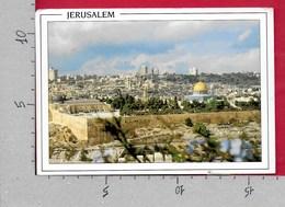 CARTOLINA VG PALESTINA - JERUSALEM - View Of The Old City From Mt. Of Olives - 10 X 15 - ANN. 2000 - Palestina