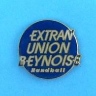 1 PIN'S //   ** EXTRAN UNION BEYNOISE / HANDBALL ** - Handball