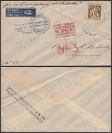 """Belgique 1935 - Vol Par Fusée """" RV3 """" (BE) DC1370 - Poste Aérienne"""