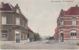 Schoonaerde - De Brugstraat - Geanimeerd - 1913 - Uitg. F. Van Heck-Everaert - Dendermonde
