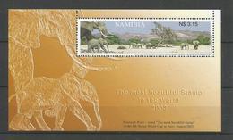 Namibia 2003 Elephants S/S Y.T. BF 65 ** - Namibie (1990- ...)