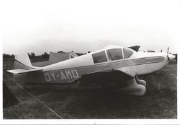 CP AVION   Jodel D.112 OY-AMD LEICESTER 1980    9X14CM - 1946-....: Era Moderna