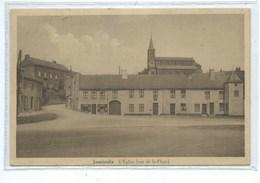Jamioulx Eglise ( Vue De La Place ) - Ham-sur-Heure-Nalinnes