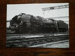 Le Creusot. Schneider. Locomotive à Vapeur Moutain 241 P 17 - Le Creusot