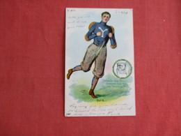 Yale Sports Player  Bull Dog        Ref 3124 - Schools