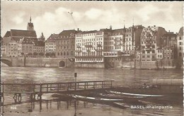 CPA Bâle-Ville * BASEL: Rheinpartie* - BS Bâle-Ville
