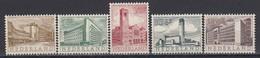 Niederland 1955 - Architektur, Mi-Nr. 655/59, MNH** - 1949-1980 (Juliana)