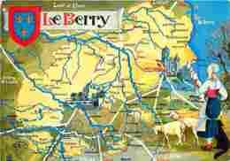 36 - Indre - Berry - Carte Géographique - Voir Scans Recto-Verso - Autres Communes