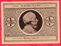 Allemagne 1 Notgeld De 1 Mark Stadt Heide (RARE) Dans L 'état  N °2929 - [ 3] 1918-1933 : République De Weimar