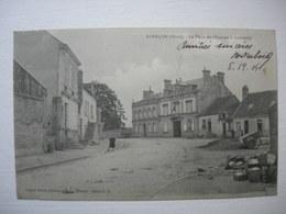 CPA Alençon. La Place Du Chaussis à Courteille.1904.. - Alencon