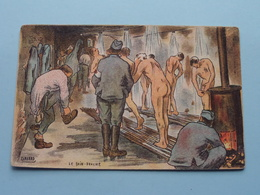 Le Bain - Douche ( GABARD - Visé Paris N° 348 - G.F. &  V.N. ) Anno 1918 ( Zie/voir Foto ) ! - Guerre 1914-18