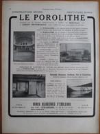 1926 -  MAISON ISOTHERME   - Ets DECOURT - Ateliers à HAM (Somme)    Page Originale ARCHITECTURE INDUSTRIELLE - Architecture