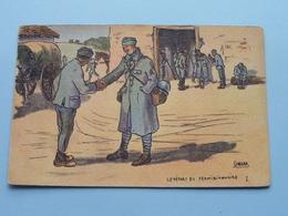 Le Départ Du Permissionnaire ( GABARD - Visé Paris N° 348 - G.F. &  V.N. ) Anno 1918 ( Zie/voir Foto ) ! - Guerre 1914-18