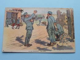 Le Cantonnement De Repos ( GABARD - Visé Paris N° 348 - G.F. &  V.N. ) Anno 1918 ( Zie/voir Foto ) ! - Guerre 1914-18