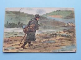 Le Retour Du Permissionnaire ( GABARD - Visé Paris N° 348 - G.F. &  V.N. ) Anno 1918 ( Zie/voir Foto ) ! - Guerre 1914-18