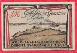 Allemagne 1 Notgeld De 1 Mark Stadt Holnis (  RARE) Dans L 'état  N °2936 - [ 3] 1918-1933 : République De Weimar