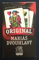 Marias Dvouhlavy Playing Cards, Original #1713, New, Open - Playing Cards (classic)