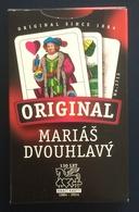 Marias Dvouhlavy Playing Cards, Original #1713, New, Open - Cartes à Jouer Classiques