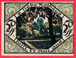 Allemagne 1 Notgeld De 50 Pfenning Stadt Scheibenberg UNC  N °2943 - [ 3] 1918-1933 : République De Weimar