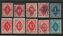 BALCANI - SLOVENIA - S.H.S. - 1919 - Segnatasse * / Usati - Cat. ? - Lotto N. 660 B - Slovenia